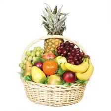 basket fruit colors of fruit