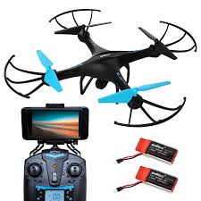 amazon com u45w blue jay wi fi fpv drone with camera live video