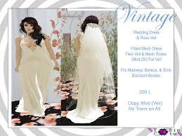 Wedding Dress Bag Second Life Marketplace Fukin Cute Vintage Wedding Dress Bag