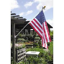 White American Flag Lone Star Banners And Flags Mansion Set