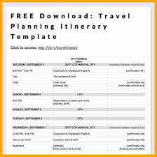 13 itinerary template word drilltap chart