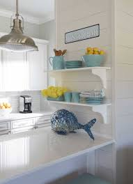 Coastal Kitchens Pinterest by Coastal Kitchen With Turquoise Accents Cool Kitchens Pinterest