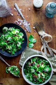 brussels sprouts slaw with bacon and blue cheese healthy