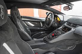 lamborghini aventador interior 2016 lamborghini aventador lp 750 4 superveloce first drive