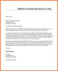 7 sample scholarship thank you letter sales intro letter