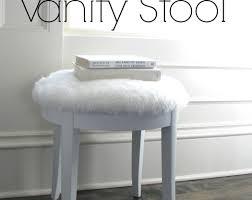 stool beautiful makeup table stool furniture diy white makeup