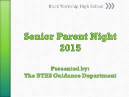 welcome to senior parent night the college application process