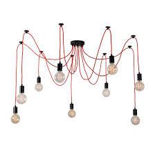 Suspension Luminaire Rouge by Luminaire Lampe Filamentstyle Design Lampes Design Lightonline