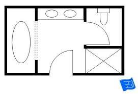 Small Bathroom Floor Plans 5 X 8 by Small Bathroom Layouts Floor Plans 6 X 8 Moreover Floor Plans