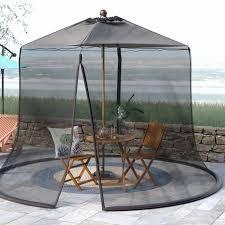 Mosquito Netting For Patio Umbrella Ft Patio Umbrella Mosquito Netting