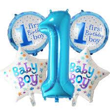 1st birthday birthday baby boy balloons