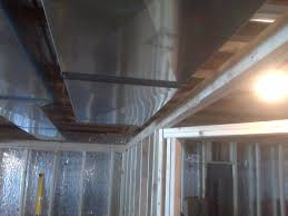 question on framing extra wide soffit in basement ridgid