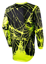 oneal motocross jersey o u0027neal element enigma jersey cycle gear