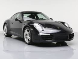 black porsche convertible used porsche 911 for sale