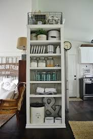 kitchen bookshelf ideas diy kitchen bookshelf