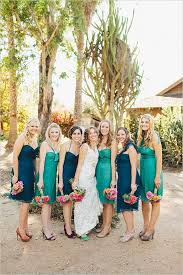 colorful bridesmaid dresses to make your wedding stand out