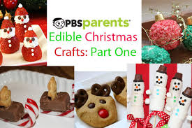 edible treats edible christmas crafts part 1 crafts for kids pbs parents