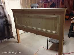 plans ana white inspired fancy farmhouse king size headboard and