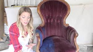 Painting Fabric Upholstery Painting Fabric With Annie Sloan Chalk Paint Youtube