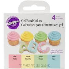 wilton gel food coloring set 448965 ebay