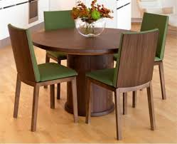 Modern Dining Room Sets For 6 Round Dining Table For 6 Square Table Having Single Open Shelf