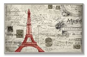amazon com the stupell home decor collection paris a vintage wall