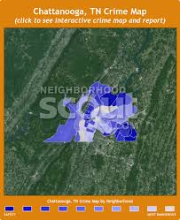map of chattanooga tn chattanooga crime rates and statistics neighborhoodscout