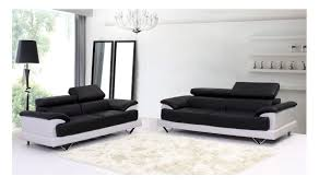 Modern White Bonded Leather Sectional Sofa Modern Black And White Leather Sectional Sofa With Minimalist