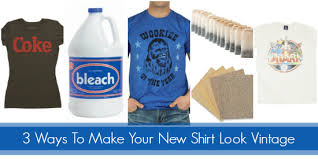 3 ways to make your new shirt look vintage shirts blog