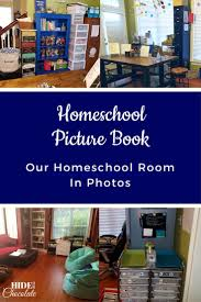 picture book our homeschool room in photos