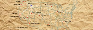 Crime Map Oakland Non Stop Destinations U2013 Missoula International Airport