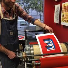 letter press letterpress classes team building workshops and events in