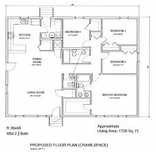 Ranch Floor Plans by 41 Floor Plans For Ranch Homes 24 X 80 Cottage Style House Plan 2