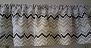 amazon com multi color grey gold brown ivory chevron valance
