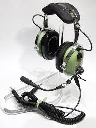 david clark h10 60c headset p n 40128g 01 dual coiled connectors