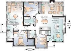 plan 21766dr house plan with in law suite plan plan house and