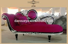 Purple Chaise Lounge Elegant Princess Purple Chaise Lounge Neo Classic Rococo Furniture