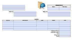 Make Your Own Invoice Template Invoice Template With Two Vat Tax Rates Uniform Software How To