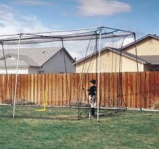 Batting Cage For Backyard by Backyard Indoor Outdoor Baseball Softball Batting Cage