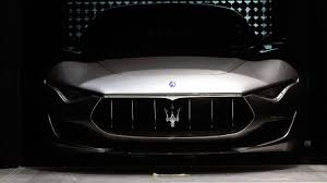 maserati models back alfieri concept car