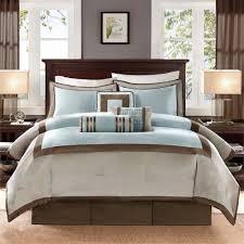 Madison Park Hanover 7 Piece Comforter Set Decor Elegant Wood Curtain Rods For Curtain Accessories Ideas