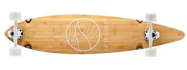 bamboo longboard by gold coast skateboards 165 usd