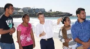 Seeking Australia Four From Tuvalu And Kiribati Travel To Sydney Seeking Climate