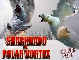 Sharknado Meme - sharknado vs polar vortex meme collection