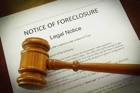 did you receive the proper notice of accelaration foreclosure