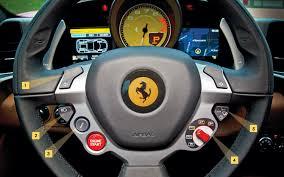 458 italia steering wheel 2010 458 italia sport coupe review automobile