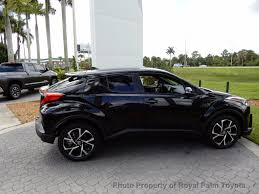 toyota sport utility vehicles 2018 new toyota c hr xle premium fwd at royal palm toyota serving