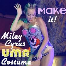 Miley Cyrus Halloween Costume Ideas Diy Miley Cyrus Vma Costume Tutorial Miley Cyrus Vma Costumes