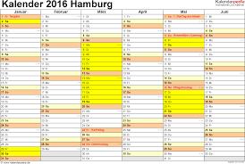 Kalender 2018 Hamburg Brückentage Kalender 2016 Hamburg Ferien Feiertage Excel Vorlagen