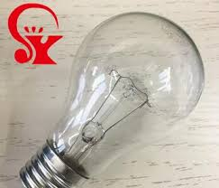 100w clear incandescent light bulb chinese manufacturer 100w 220v incandescent ls round clear light